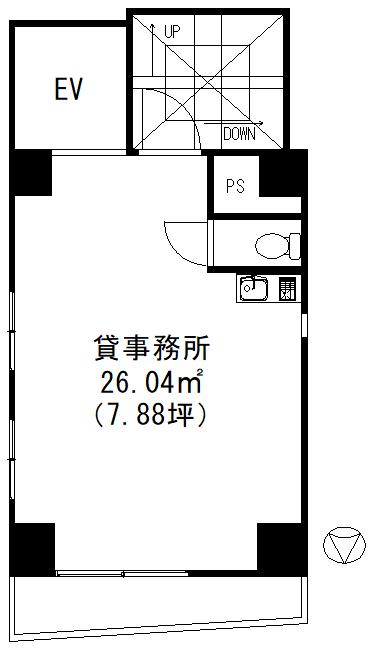 ISC秋葉原6階間取図